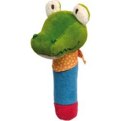Grijpfiguur Krokodil Squeaker met Piep PlayQ - Sigikid
