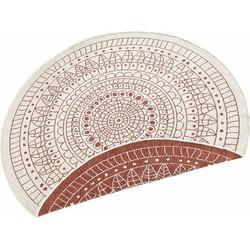 Teppich, »Porto«, bougari, rund, Höhe 5 mm, maschinell gewebt