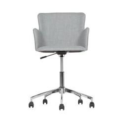 Winona bureaustoel, grijs met print