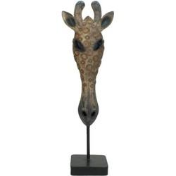 Kersten Ornament African Giraffe bruin
