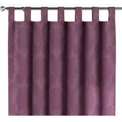 Gordijn met lussen paars