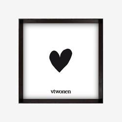 vtwonen Fotolijst Zwart - 30 x 30 x 4 cm