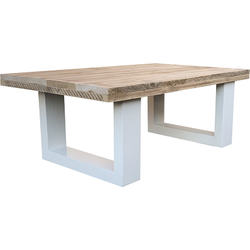 "Wood4you - Salontafel ""New England"" tafel - wit 80 / 135 cm"