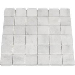Mugla White Tumbled 4,8 x 4,8 x 1 cm