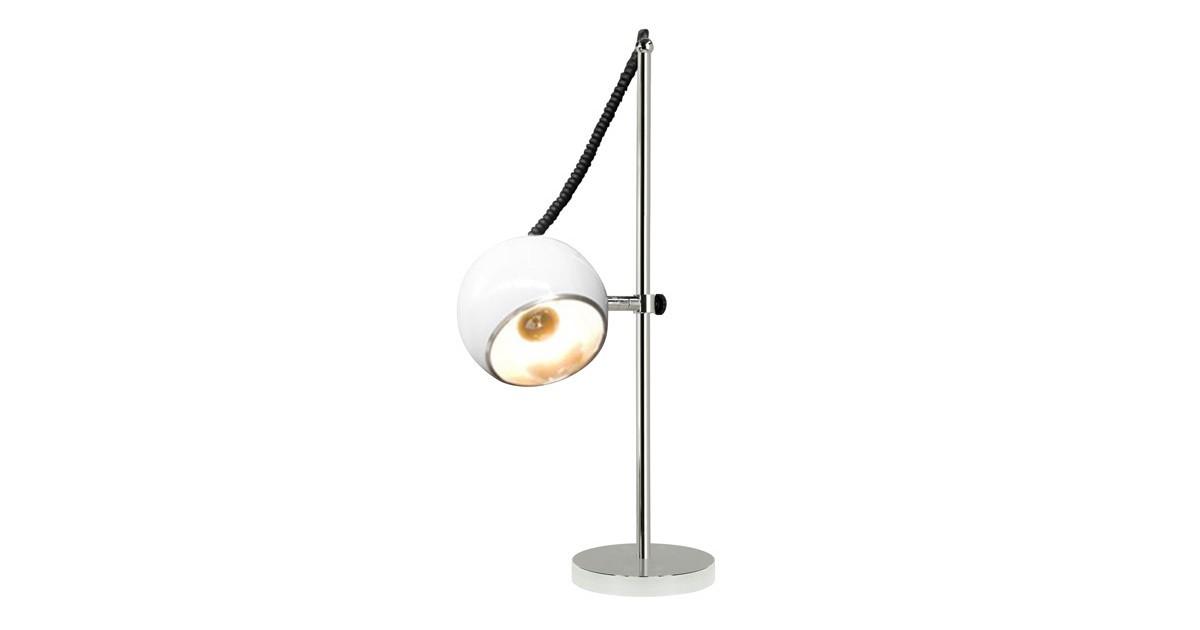 24Designs Retro Tafellamp Capella – Wit kopen Verlichting? Dat doe je hier snel en voordelig – snel in huis bezorgd