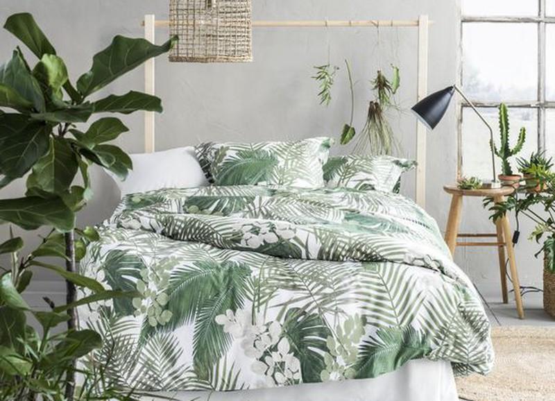 Botanisches Schlafzimmer