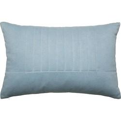 Bloomingville Kussen Katoen/Polyester Blauw - 60 x 40 cm