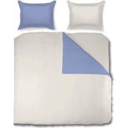 Nightsrest Dekbedovertrek Two Tones Metal Blue - Pearl Maat: Lits-jumeaux (240 x 220 cm + 2 kussenslopen 60x70cm)