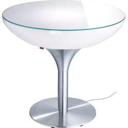Moree Lounge 75 Verlichte Tafel Indoor - Wit