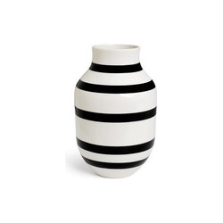 Kähler Design - Omaggio Vase H 305, schwarz