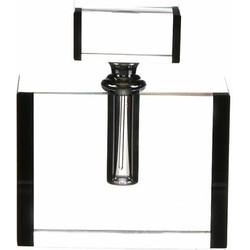 Fles Fleurac Helder  12cm 100% Kristal Glamour