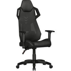 24Designs ARacer Bureaustoel & Gamestoel PU/Mesh - Zwart