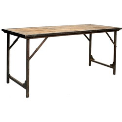 The Foldable Market Table - Natural