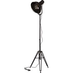 BePureHome Vloerlamp Spotlight zwart
