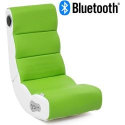 24Designs Soundz Pro - Racestoel Gamestoel - Bluetooth & Speakers - Groen