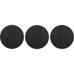 Delight Department Honeycomb zwart set van drie
