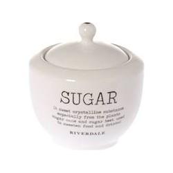 suikerpot Love white 11cm