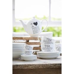 Thee kop en schotel