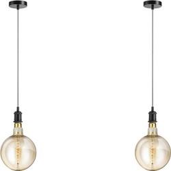 Lifa Pendel Hanglamp - zwart