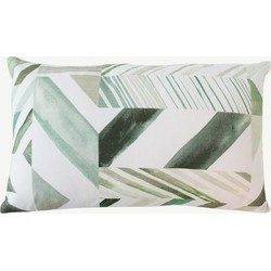 Urban Nature Culture cushion Patch of stripes