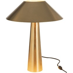 Umbrella - Tafellamp - vintage design - metaal - goudkleurig