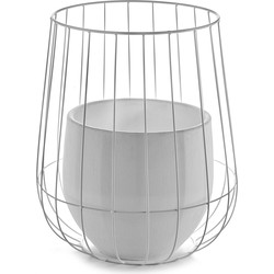 Serax Pot In A Cage Bloempot 46 cm - Wit