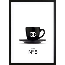 Chanel Coffee No. 5 Poster (70x100)