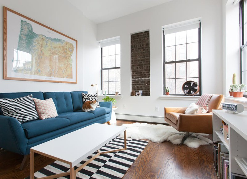Dit is de meest gemaakte fout bij het inrichten van een klein appartement