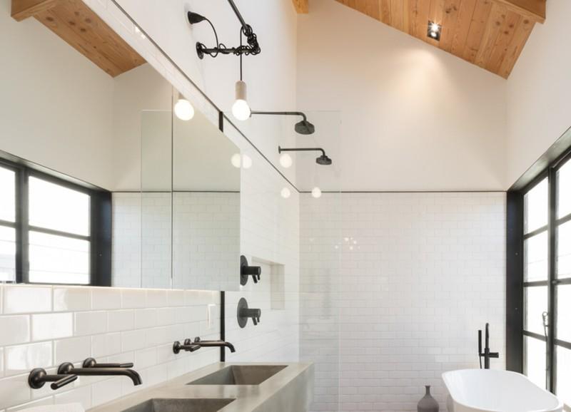 Bamboe Ladder Badkamer : Trend een badkamer met hout alles om van je huis je thuis te