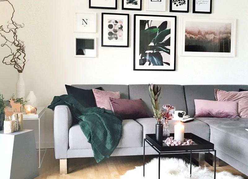 Shop the Look: Ein geradliniges Wohnzimmer