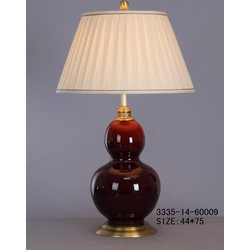 Fine Asianliving Fine Asianliving Oosterse Tafellamp Porselein Bordeaux Rood