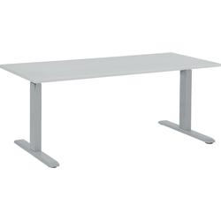 Bureau elektrisch verstelbaar grijs 160 x 72 cm UPLIFT II