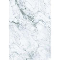 KEK Amsterdam Behang Marble White Grey - 4-baans