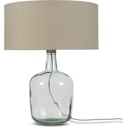 Tafellamp Murano 4723 linnen dark, L