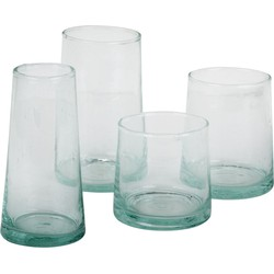 glass coneshaped S-M-L - (S) small