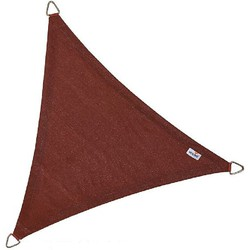 Schaduwdoek - Nesling - Coolfit - Terracotta - Driehoek 5,0 x 5,0 x 5,0 m