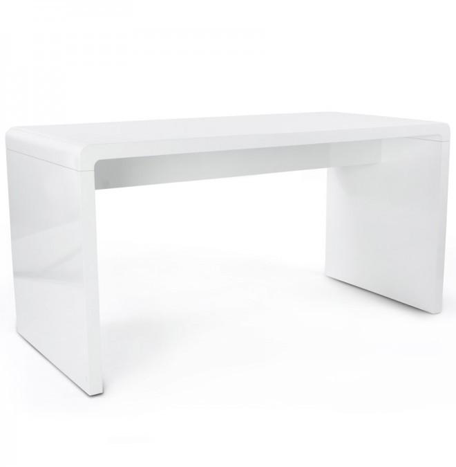 Design Bureau Hoogglans Wit.Kare Design Bureau White Club 150 X 70 Cm Wit Kare Design