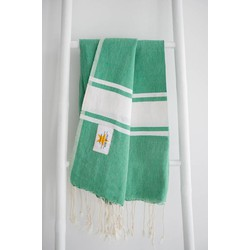 Mycha Ibiza - hamamdoek - groen - 100% katoen