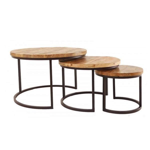 AnLi-Style Salontafelset Oxford Set Van 3 -