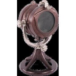 Tafellamp Piombino koper + ruw nickel