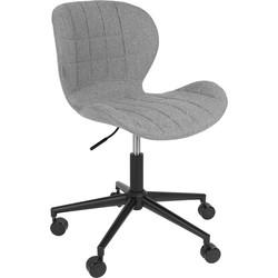Zuiver Bureaustoel OMG grijs 76 - 88 x 65 x 65