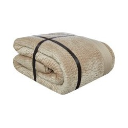 Luxury Hotel Collection Channel Bedspread Champagne