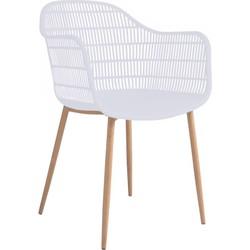 Tamy - Set van 2 stoelen - Wit