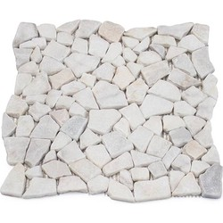 Mugla White Tumbled Palladiyen 2/5 cm