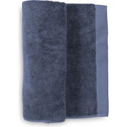 Handdoek Premium 50x100 cm jeans blue - Set van 3