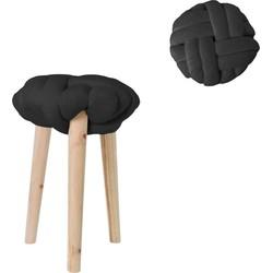 Tabouret - kruk - zwart
