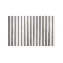 John Lewis Stripes Placemat, Grey/White