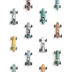 Behang Raceauto