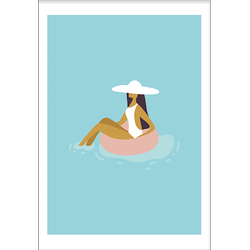 Pool lounging (21x29,7cm)