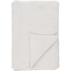 Marc O'Polo Plaid Nordic Knit Off White (130x170cm)